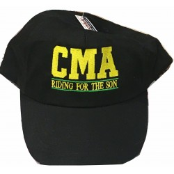 Black Baseball Cap with...